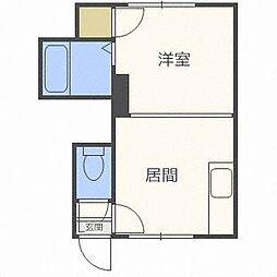 ビアンカマンション[2階]の間取り