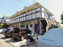 中江川ハイム[1階]の外観