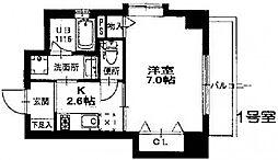 プロビデンス栄南[3階]の間取り