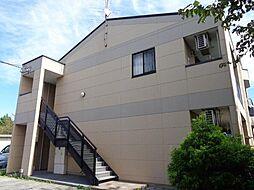 埼玉県さいたま市岩槻区大字上野の賃貸アパートの外観