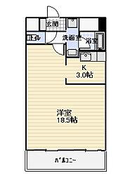 徳高ビル[301号室]の間取り