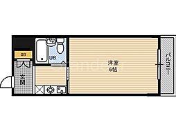 オルバス関目[3階]の間取り