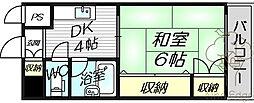 グレイスフル中崎I[3階]の間取り