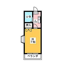 アルミックK[1階]の間取り