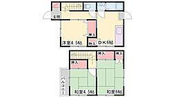 [タウンハウス] 兵庫県小野市天神町 の賃貸【/】の間取り