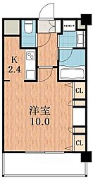 KAISEI天王寺[2階]の間取り