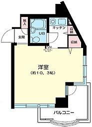 パークノヴァ横浜参番館[4階]の間取り