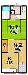 [一戸建] 大阪府大阪市大正区南恩加島3丁目 の賃貸【/】の間取り