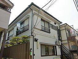 東京都北区西ケ原3丁目の賃貸アパートの外観