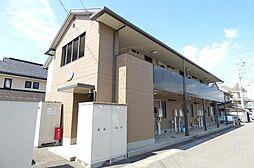 長野県長野市稲里町中央3丁目の賃貸アパートの外観