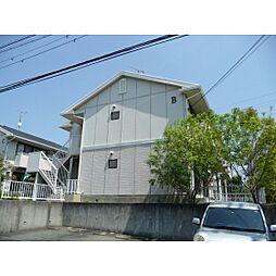 静岡県浜松市中区佐鳴台6丁目の賃貸アパートの外観