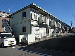 東京都葛飾区細田5丁目の賃貸アパートの外観