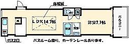 アクアプレイス大阪レジェンド[5階]の間取り