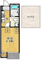 仮)駿河台新築AP2[202号室]の間取り