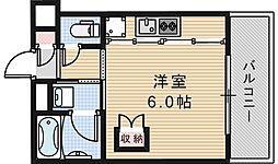トーシン阪南町ビル[305号室]の間取り