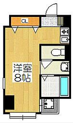 Flat136[5階]の間取り