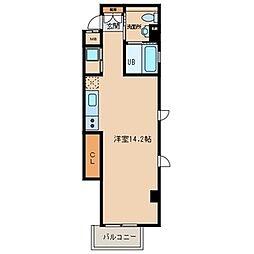 Nouvelle Vie[4階]の間取り