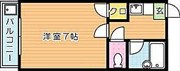 ラガール折尾[2階]の間取り