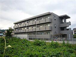 長野県松本市岡田下岡田の賃貸マンションの外観