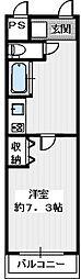 アイルーム狭山[2階]の間取り