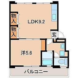 三和東マンション[2階]の間取り