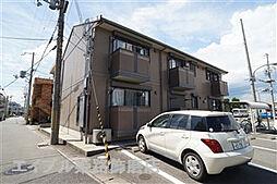 兵庫県姫路市飾磨区細江の賃貸アパートの外観