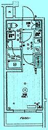 スカイコートパレス溝の口[5階]の間取り