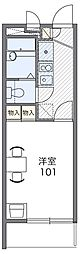Osaka Metro谷町線 野江内代駅 徒歩11分の賃貸マンション 4階1Kの間取り