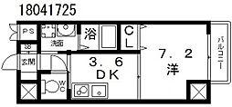 コプリーキタハナダ[2階]の間取り