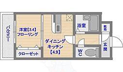 呉服町駅 4.0万円