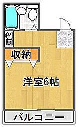 プチグレイス7番館[1階]の間取り