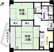 和室8畳 和室6畳 キッチン