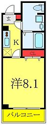 SHOKEN Residence板橋区役所前 3階1Kの間取り