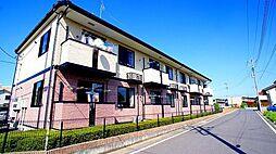 埼玉県熊谷市妻沼中央の賃貸アパートの外観