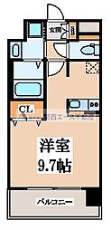 レオンコンフォート玉造[7階]の間取り