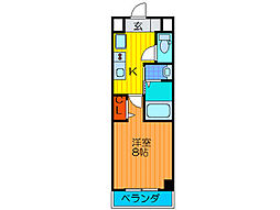 Palace Osaka[803号室]の間取り