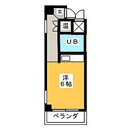 アーバンライフ新栄[2階]の間取り