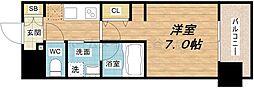 アーバネックス北堀江II[5階]の間取り