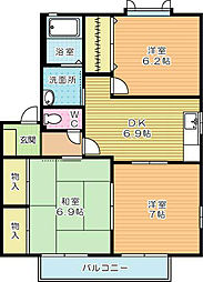 エティンセラー21 B棟[2階]の間取り