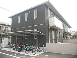 愛媛県松山市吉藤3丁目の賃貸アパートの外観