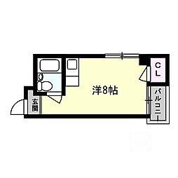 ロータリーマンション末広町[2階]の間取り