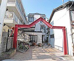 京都府京都市上京区裏門通下長者町下る白銀町の賃貸マンションの外観