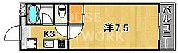 ファーストコート紫竹[403号室号室]の間取り
