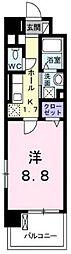 アプローズ[5階]の間取り