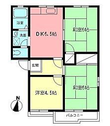 メゾンOZAWA[102号室]の間取り