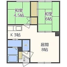サンコーポI[2階]の間取り