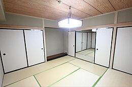 8帖の和室です。