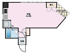 カーサクニミ2[2-C号室]の間取り