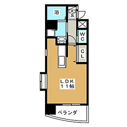 フラワーパーク[5階]の間取り