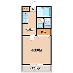 プレミエールキクII[2階]の間取り